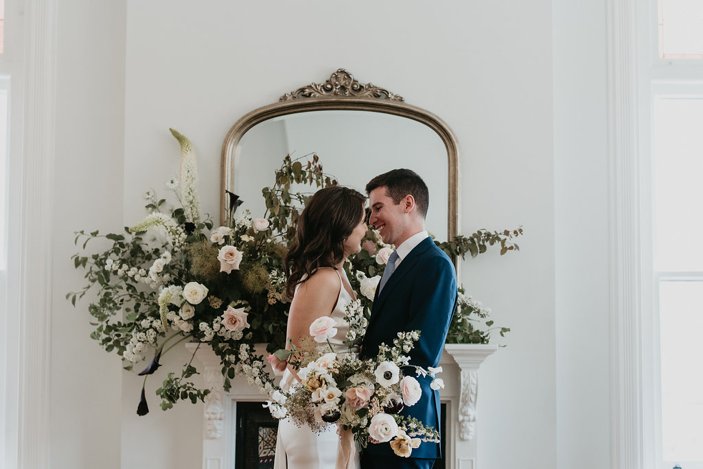 CATHLEEN + ANDREW<strong>CHARMING BRUNCH WEDDING</strong>