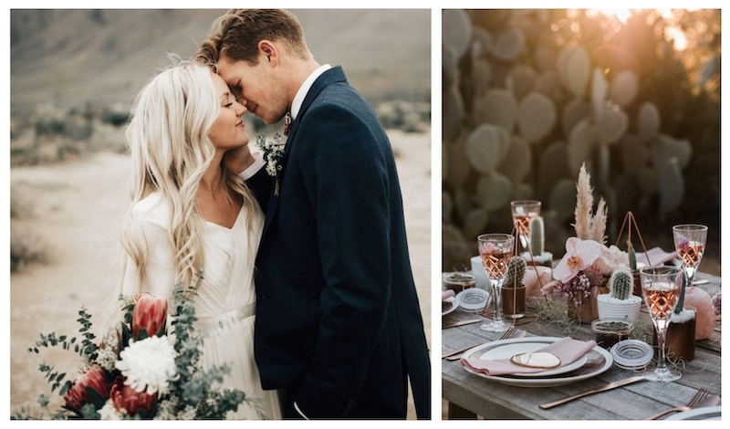 images via  India Earl  and  June Bug Weddings
