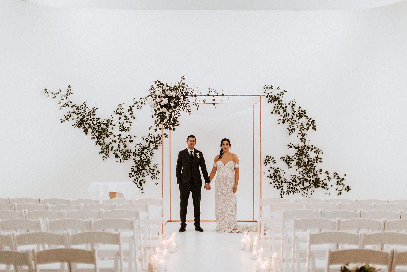 SHAUNA + JUSTIN <strong>BEAUTIFUL BOTANICAL WEDDING</strong>