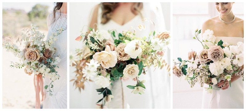 images via  Martha Stewart Weddings ,  Mon Cheri Bridals ,  Studio Mondine
