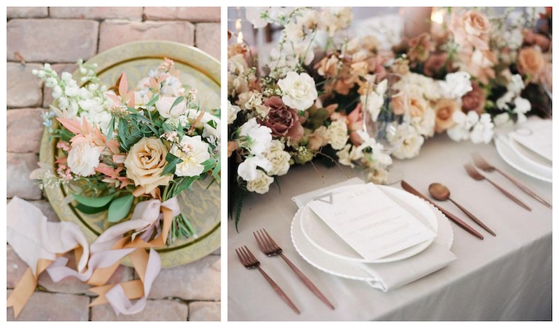 images via  Ruffled  and  Magnolia Rouge