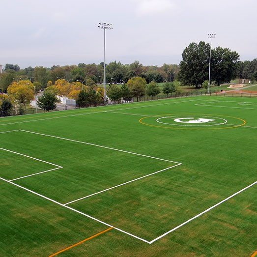 5. - Improve our exterior campus design: add bus storage, additional parking, improve traffic flow, and renovate our athletic field.