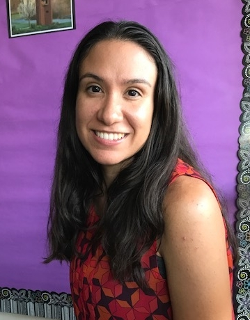 Rebecca Raposo, new first grade teacher.