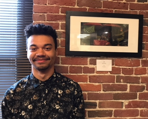 SLA Junior Paul Keeffe submitted a photograph to the 2018 Congressional Art Competition. His photograph is now hanging in Congresswoman Niki Tsongas' office.