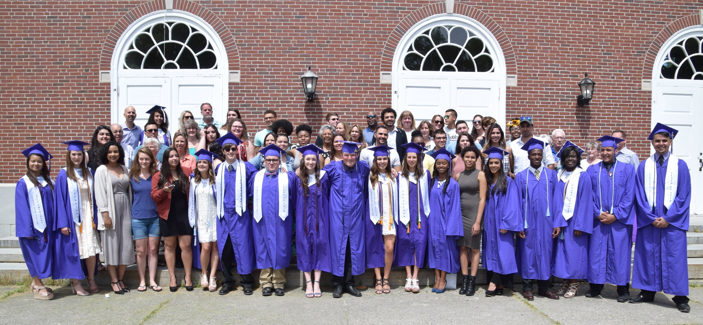 Many alumni attended the graduation ceremonies. We welcome each of these alumni back to SLA at any time.