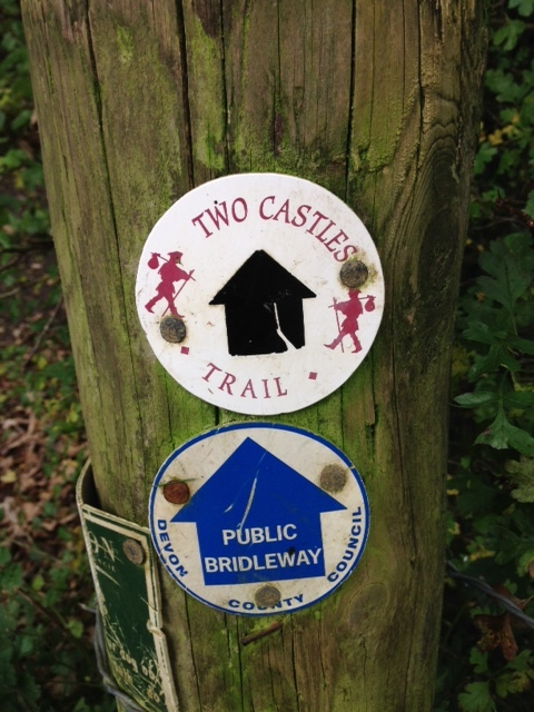 Our retreat centre is on the two castles route which runs from Launceston to Okehampton.