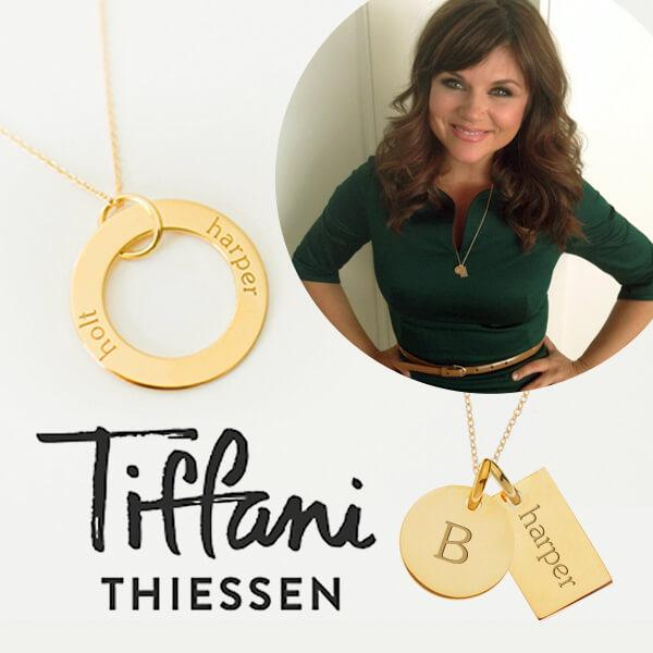 Tiny Tags as seen on mom and actress,  Tiffani Thiessen