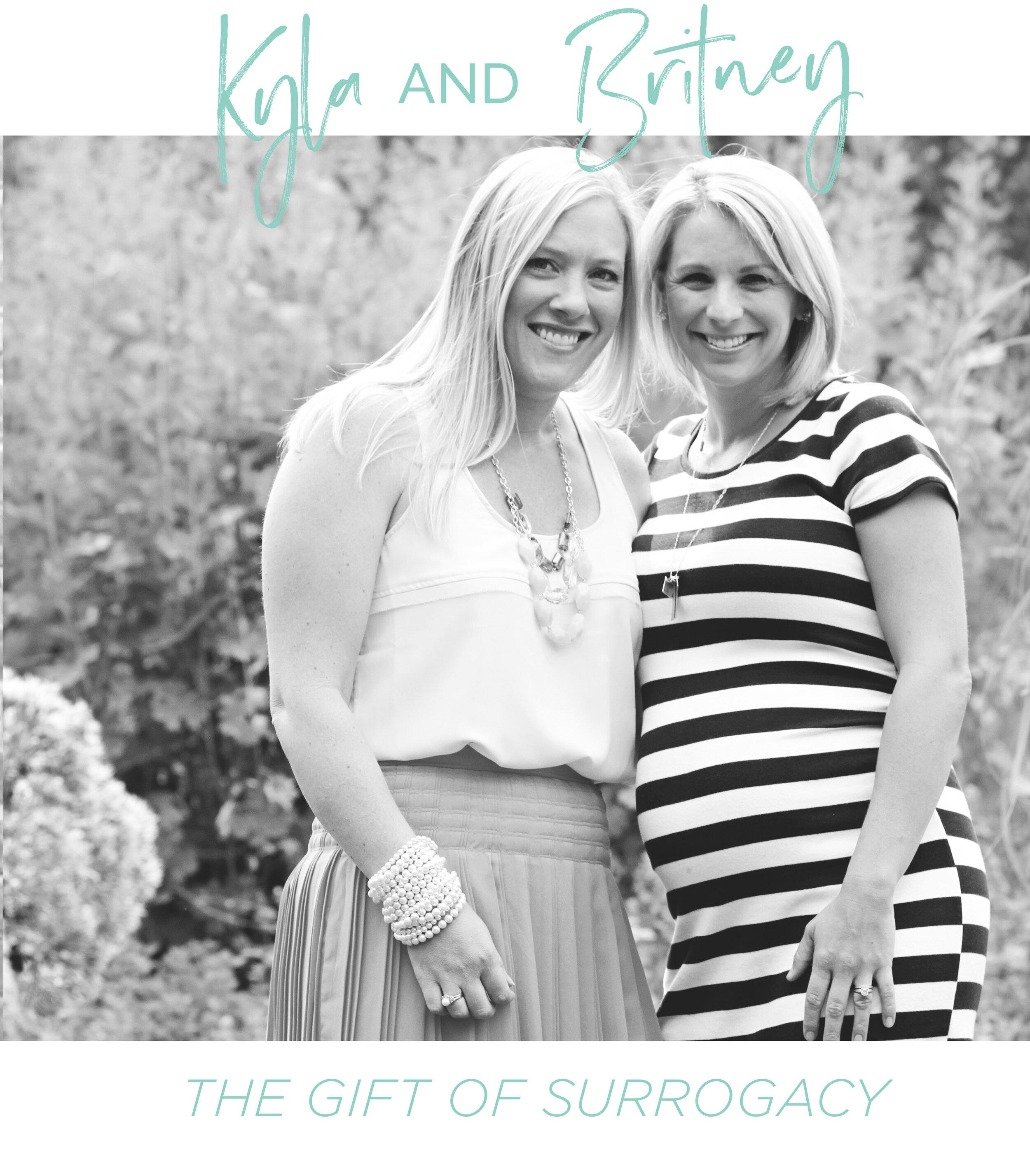 Britney Calkins + Kyla Mowrer
