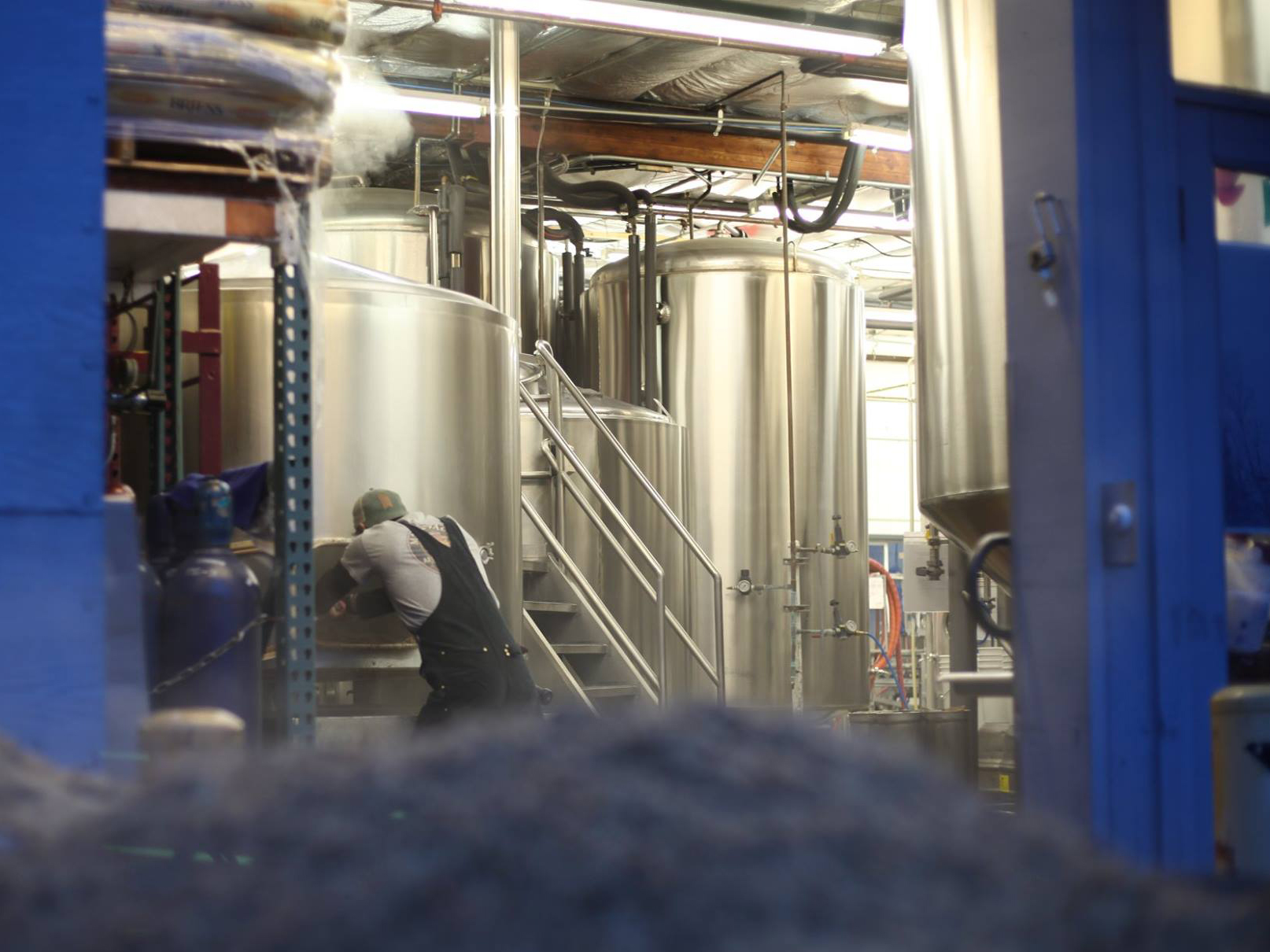 Our brewery is uniquely optimized to maximize production while maintaining a small footprint.