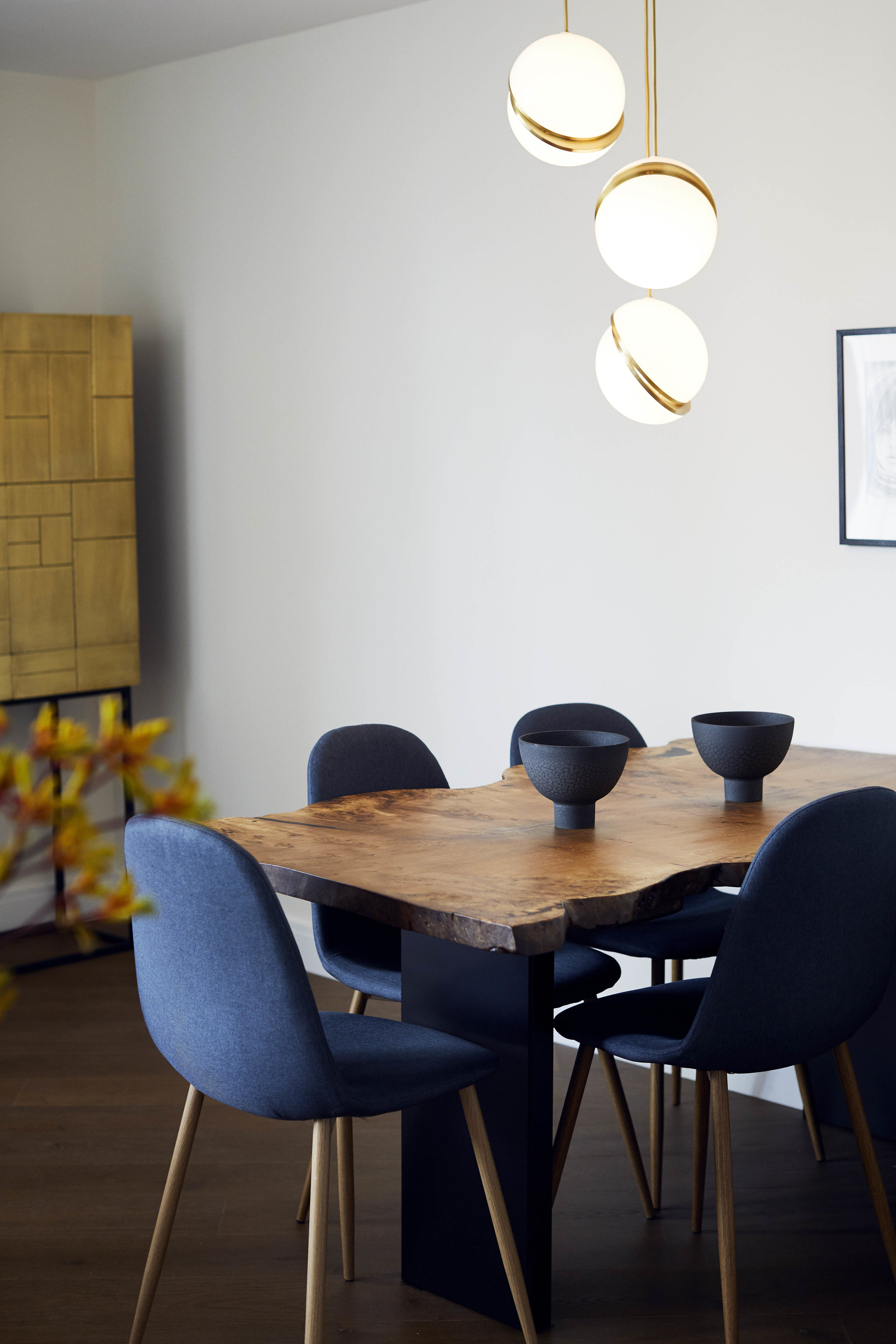 Dining Room Battersea Modern Apartment