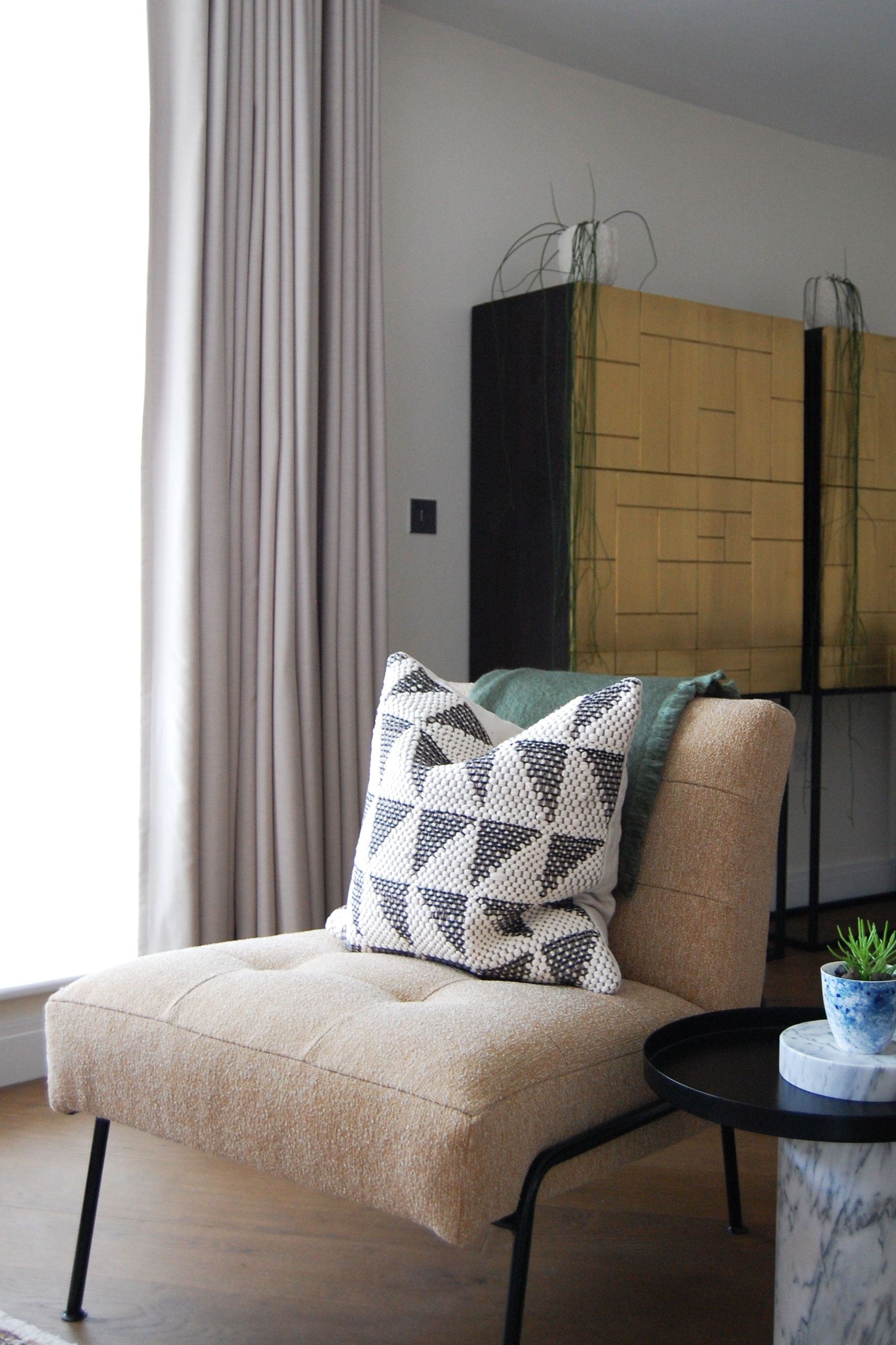Living Room Battersea Modern Apartment
