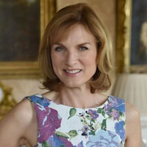 Fiona Bruce conference moderator