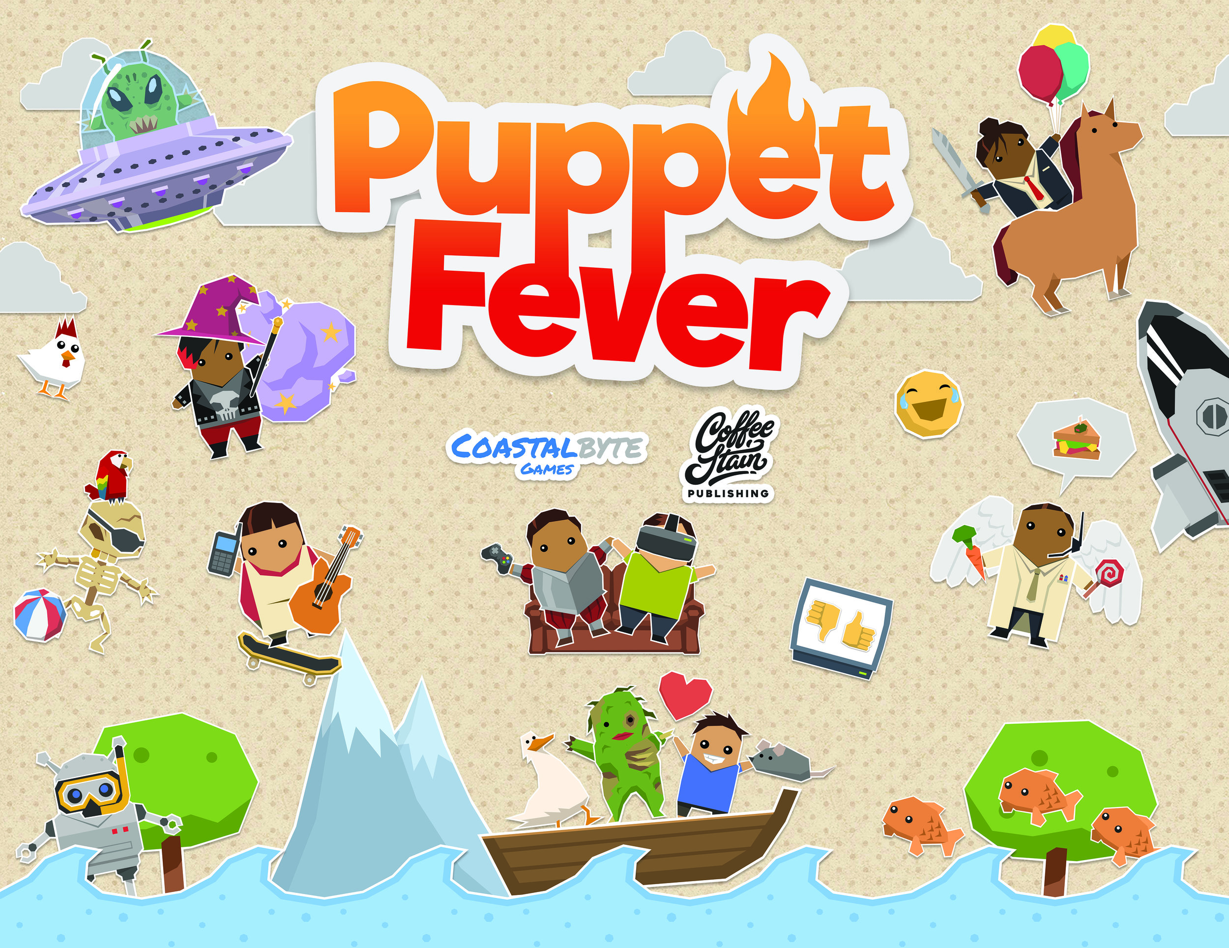 Pupper fever - Wall Poster_mindre.jpg