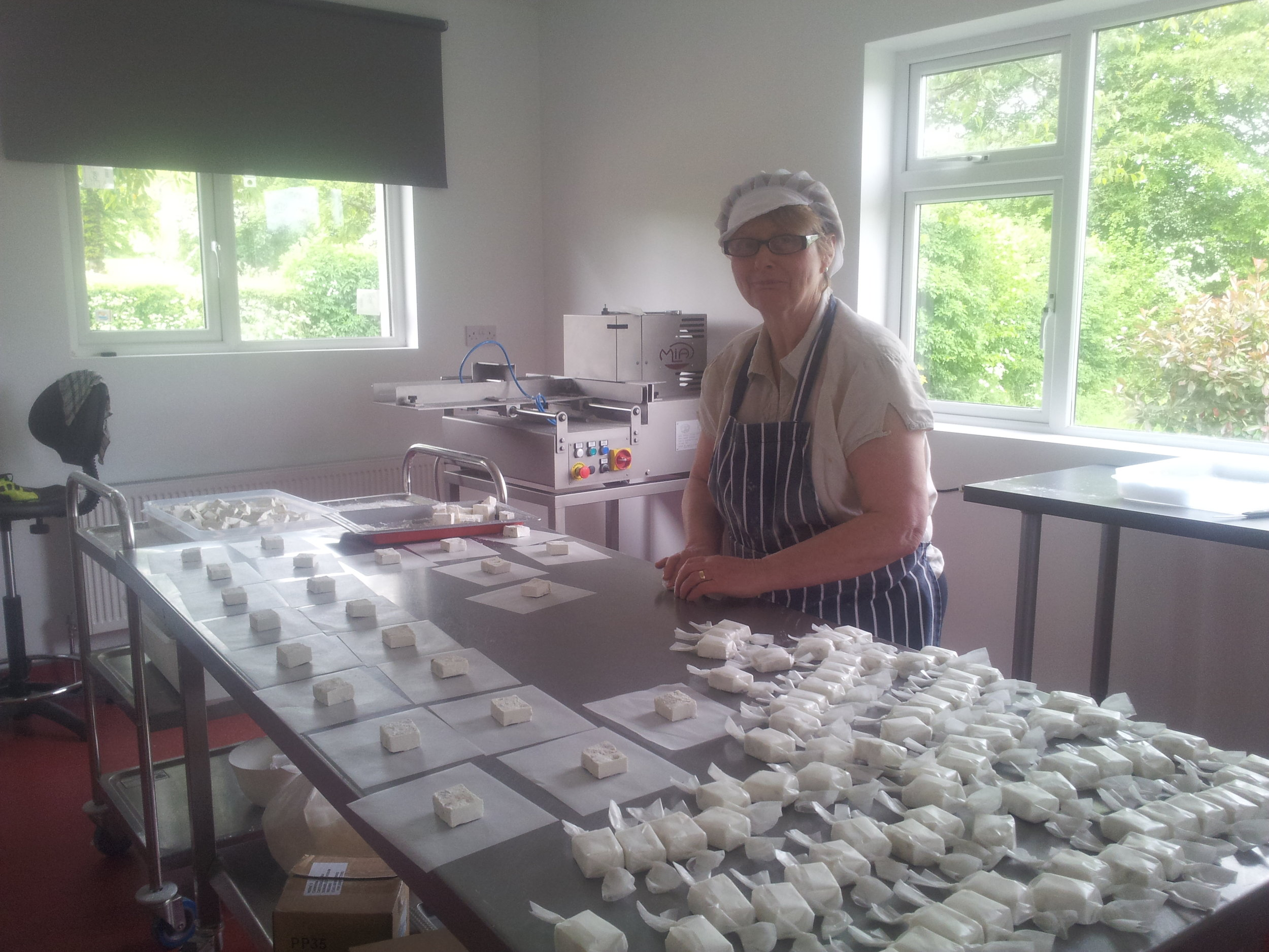 In 2014 Avoca was our first retailer.  We (Mary and I) still hand wrapped all our sweets and we only had three flavours.