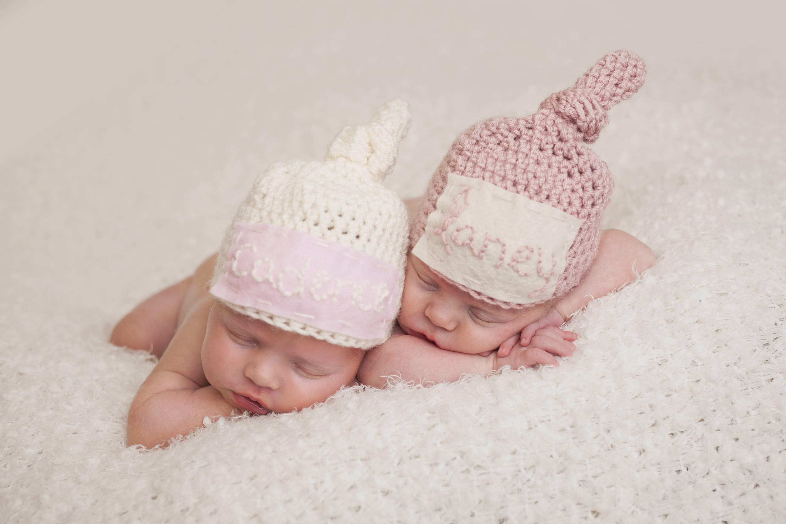 twin baby portraits