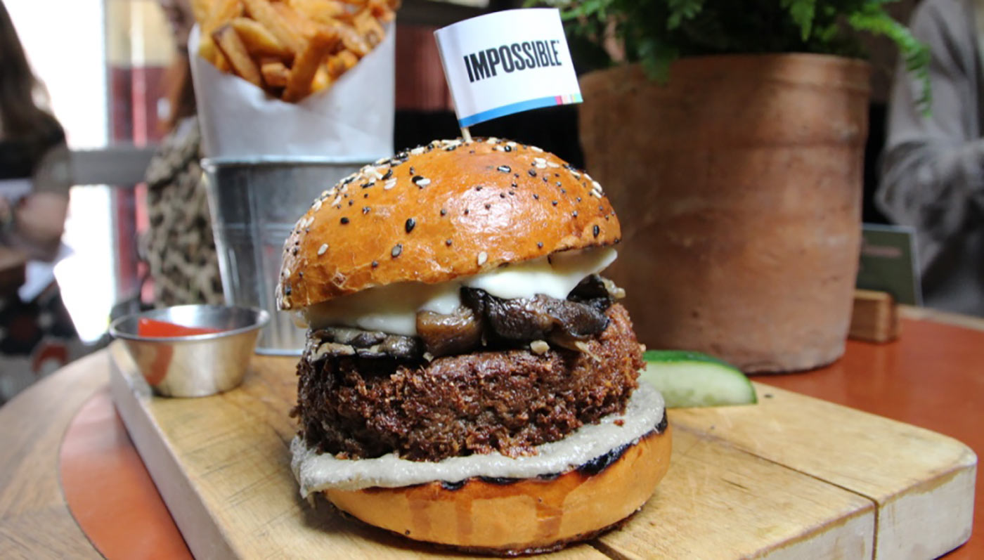 Impossible Burger Panel
