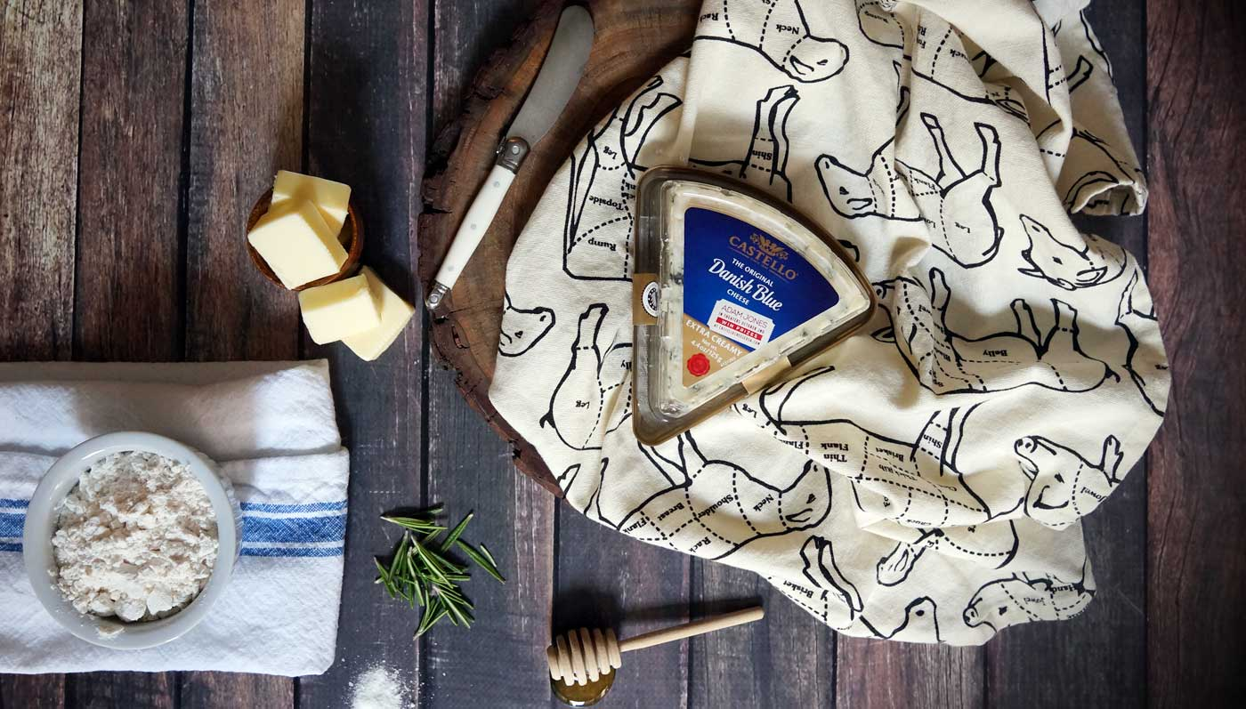 Blue Cheese Pâte à Choux