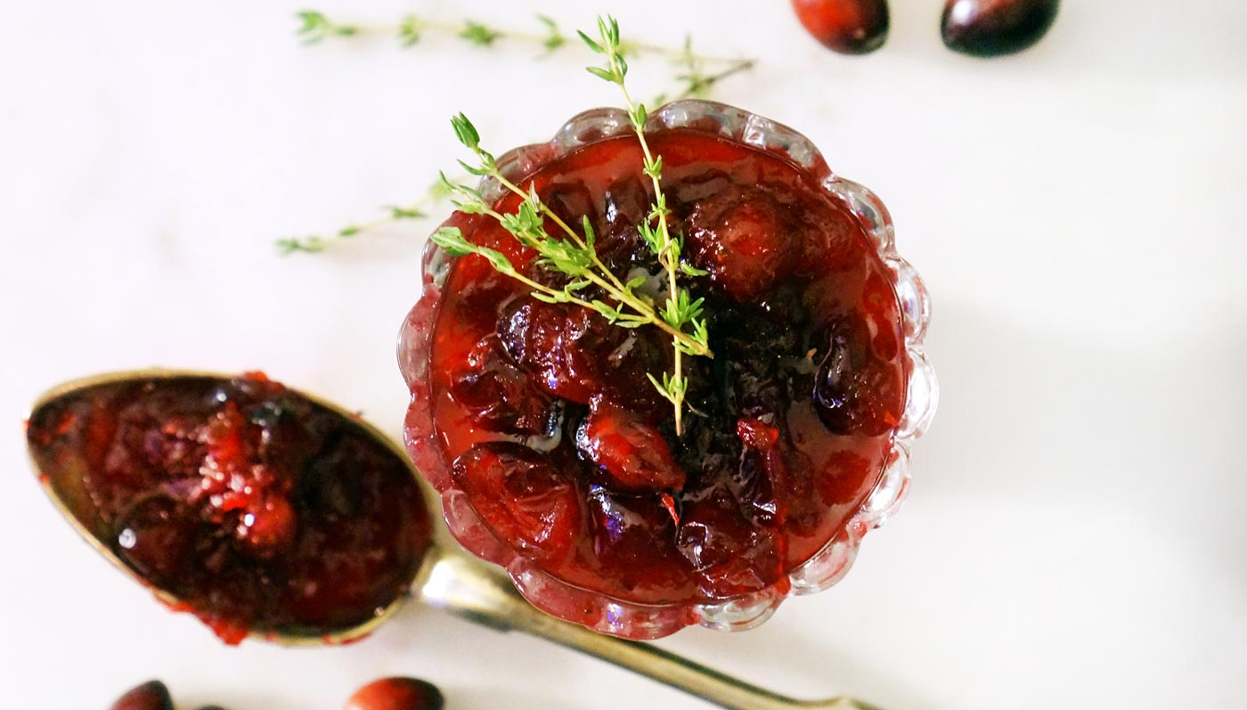 Scotch Infused Cranberry Sauce