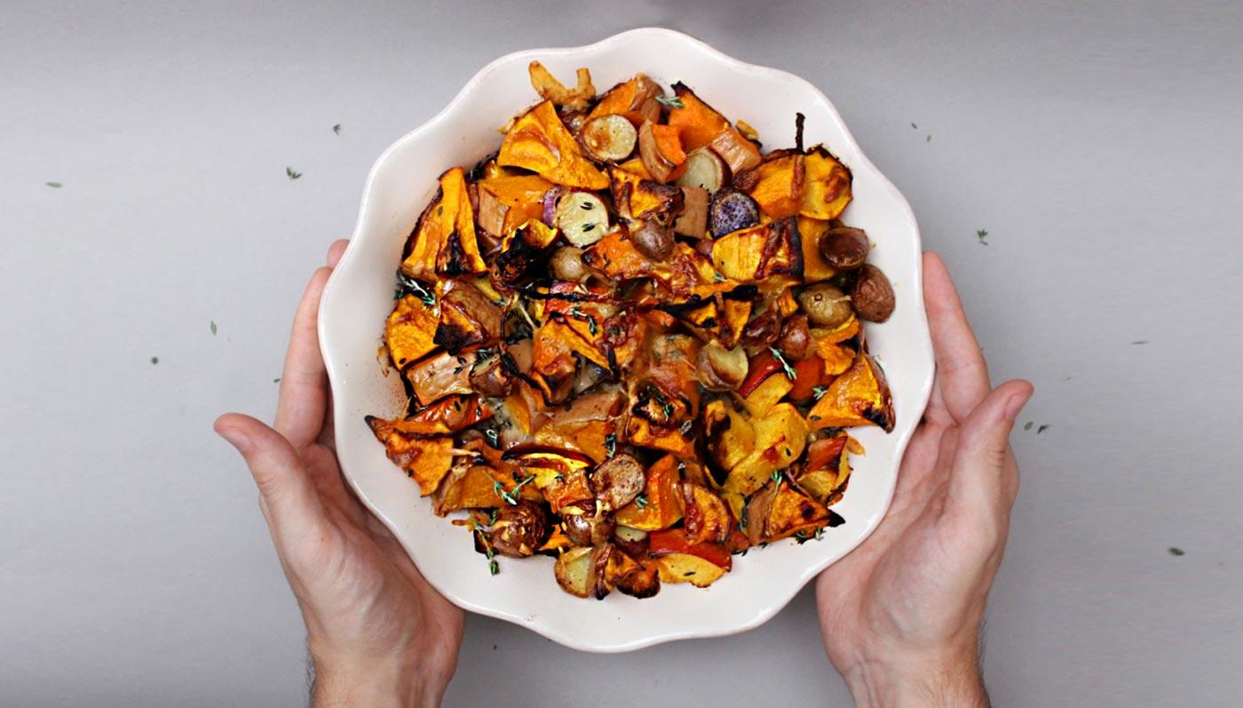 Pumpkin Butternut Squash And Potato