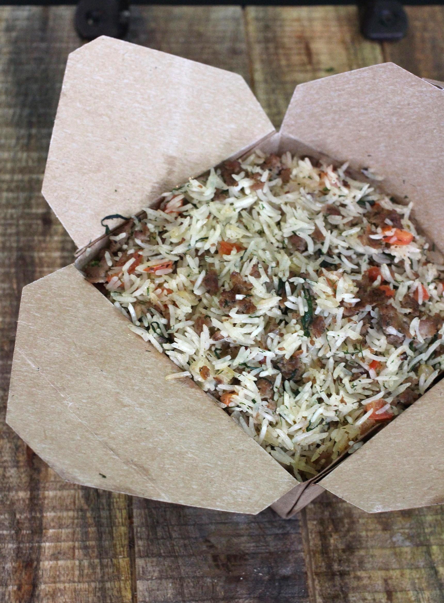 Stadium Gyro's Gyro Fried Rice