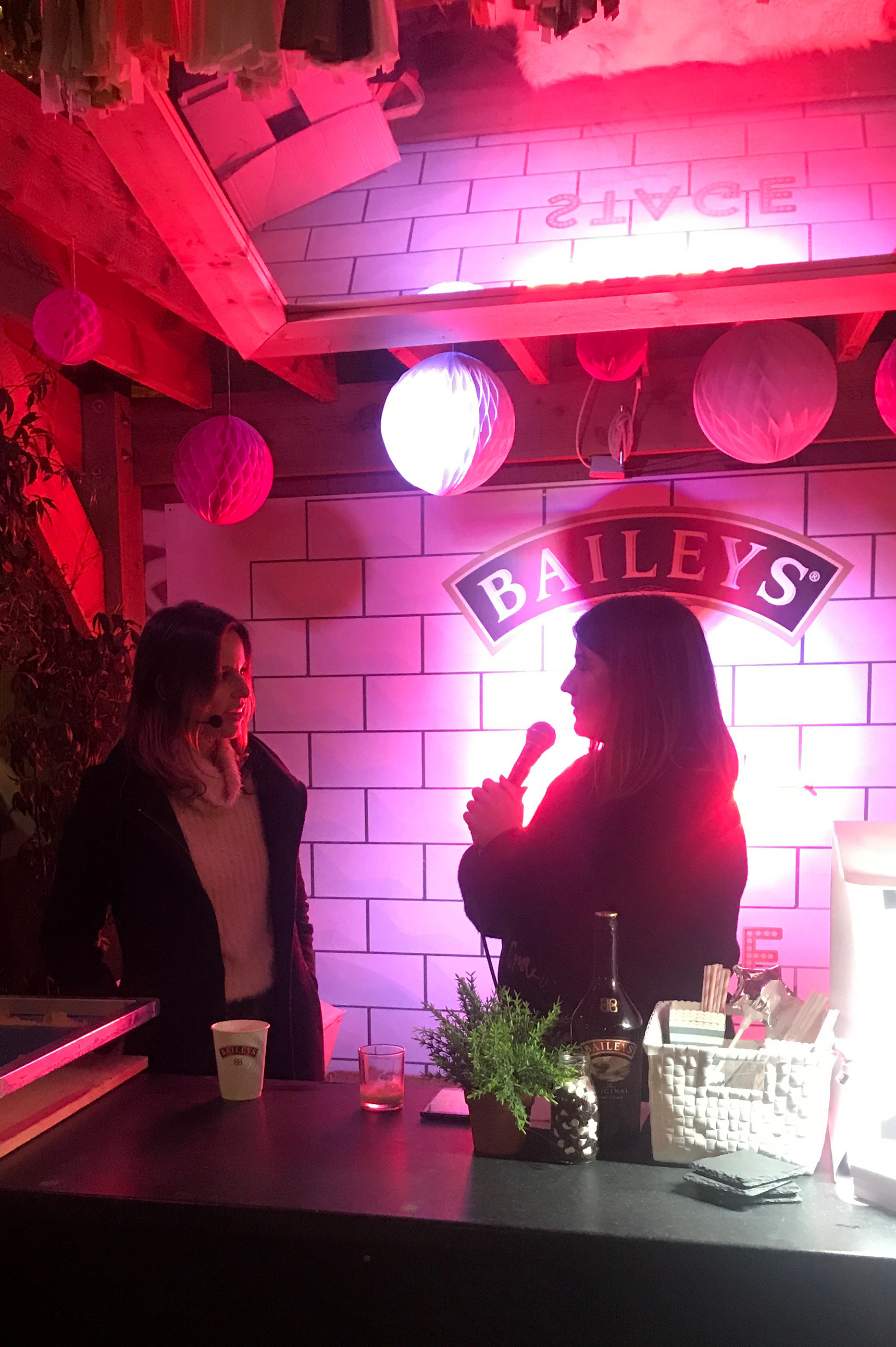 My Interview On The Baileys Stage