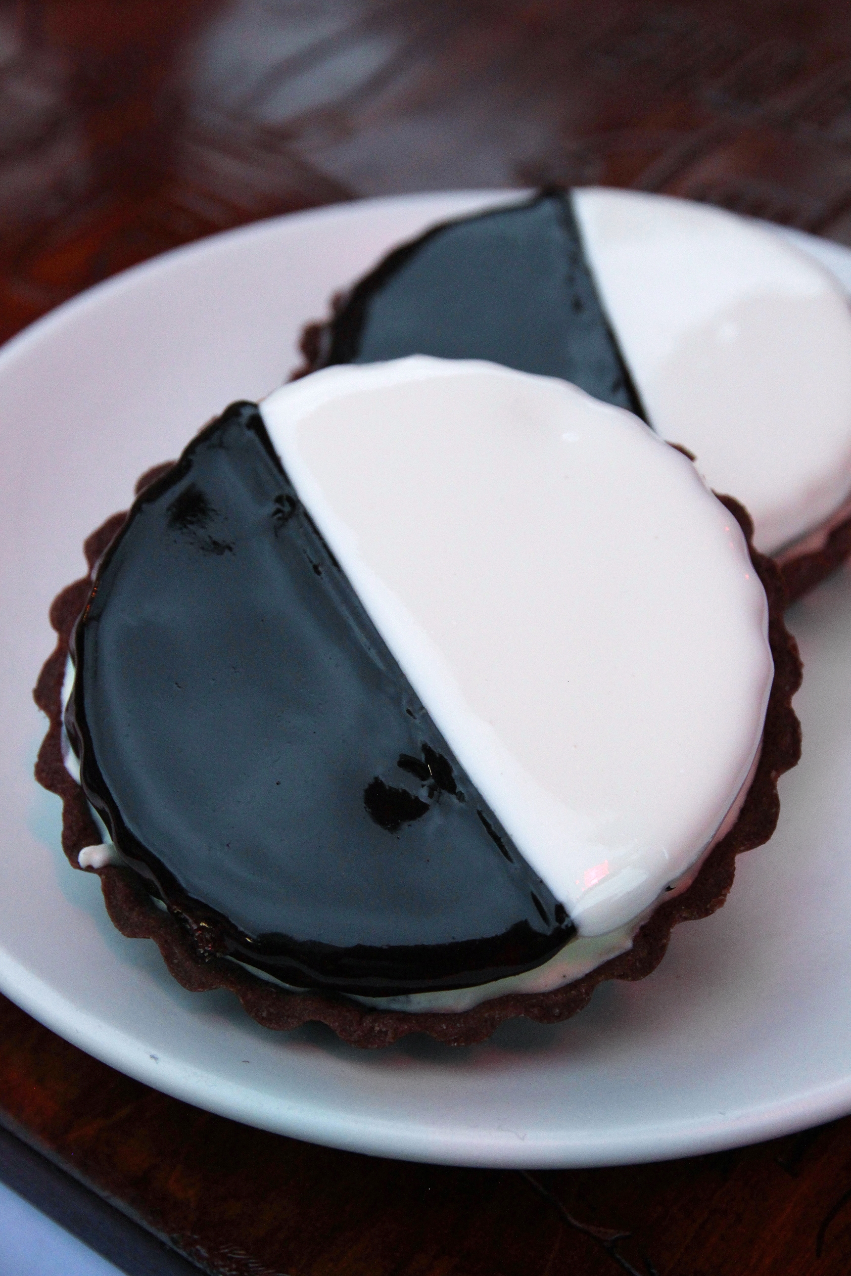Quality Eats Black And White Cookie Tart