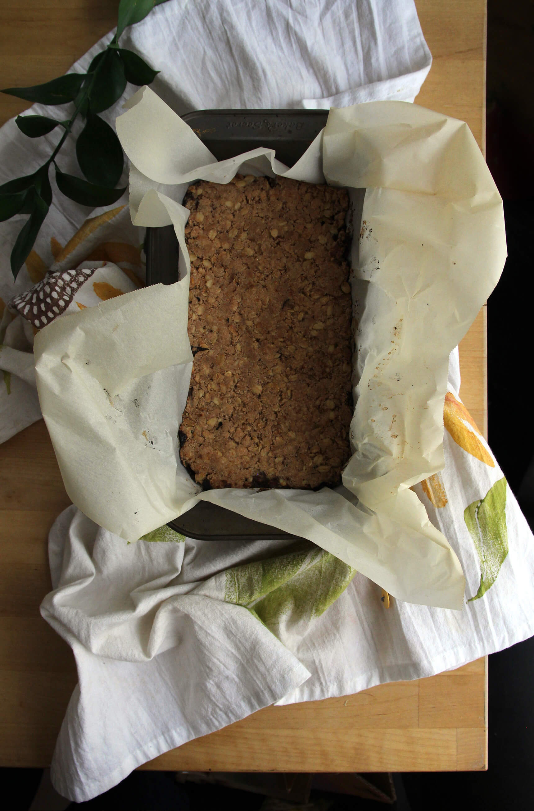 Brown Butter Date Bars