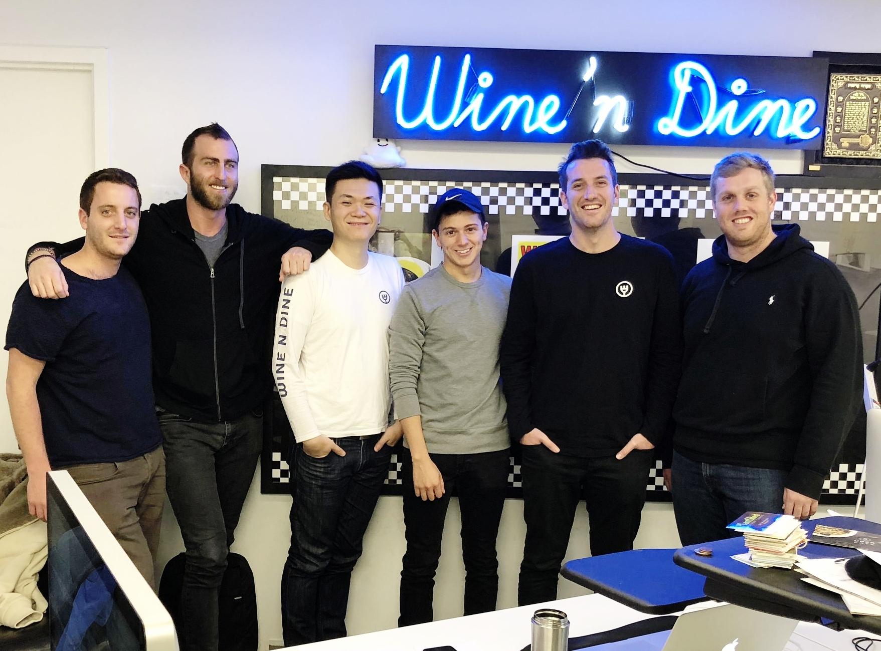 Wine n Dine Team    Photo Source    Wine N DIne
