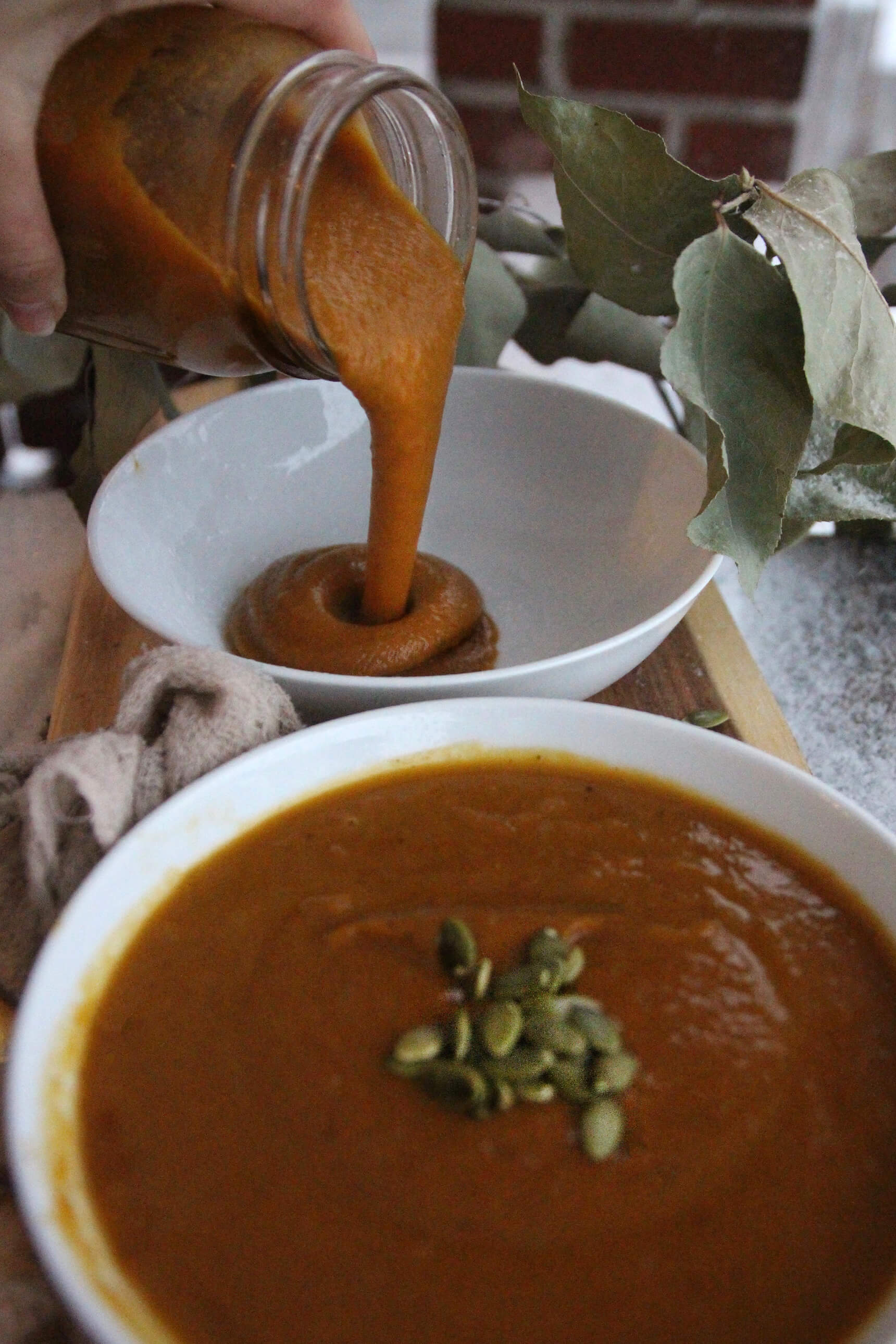 Curry Maple Butternut Squash Soup