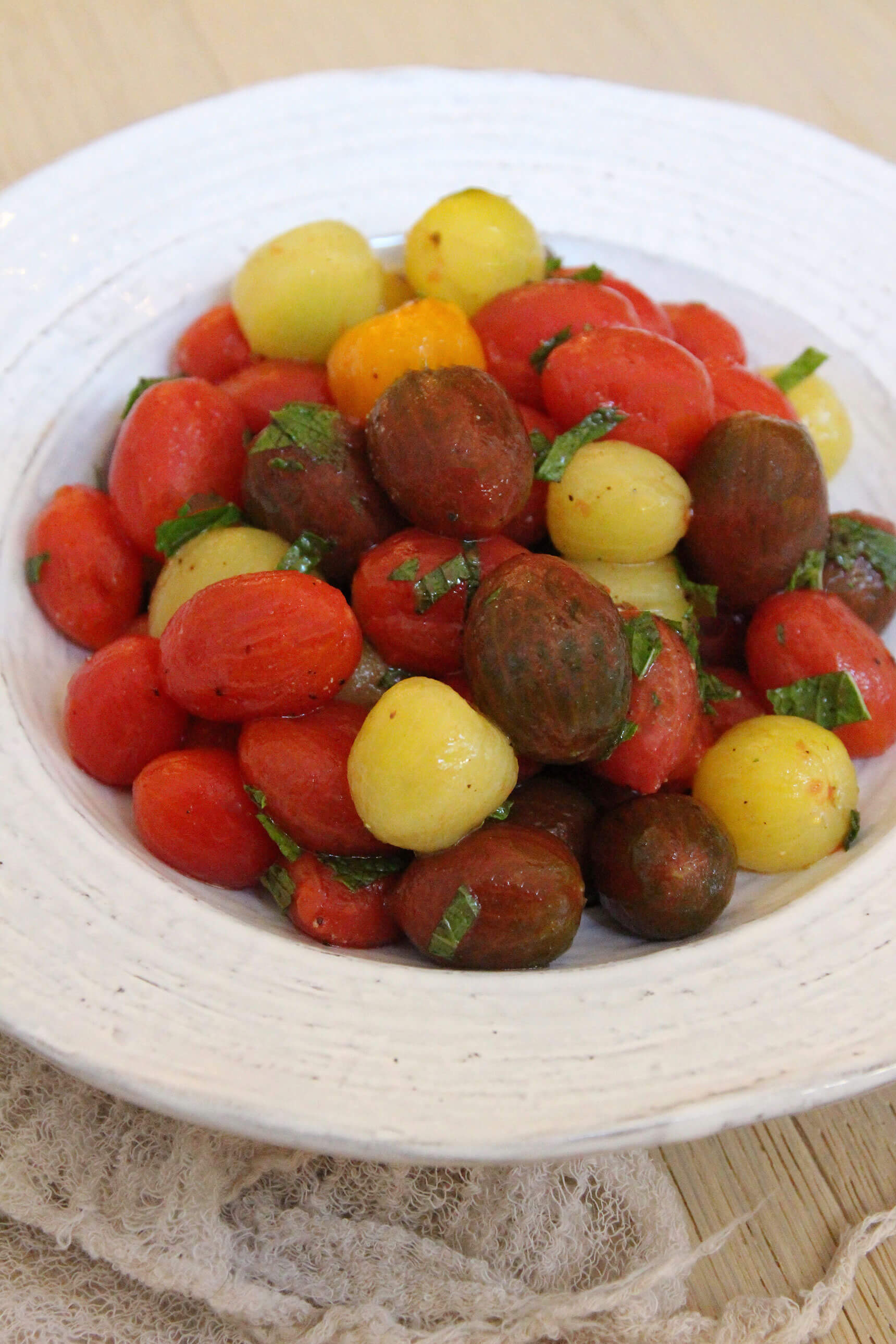 Heirloom Cherry Tomato Side Dish