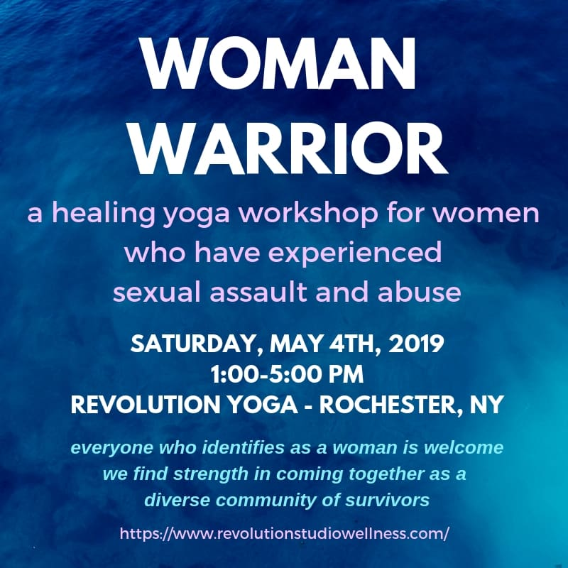 Healing Yoga for Sexual Assault Survivors - Rochester, New York