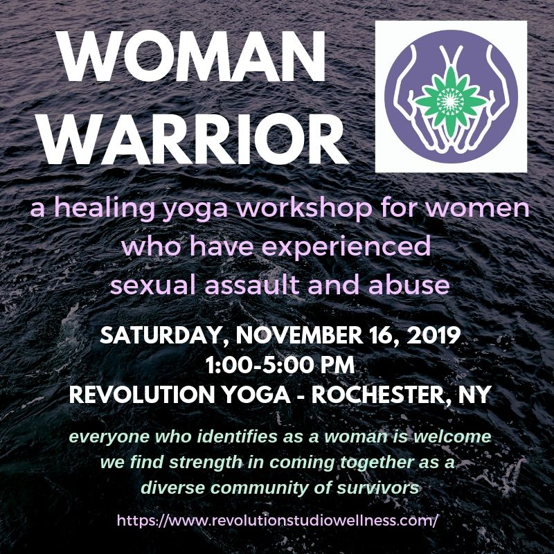 Healing Yoga for Sexual Assault Survivors