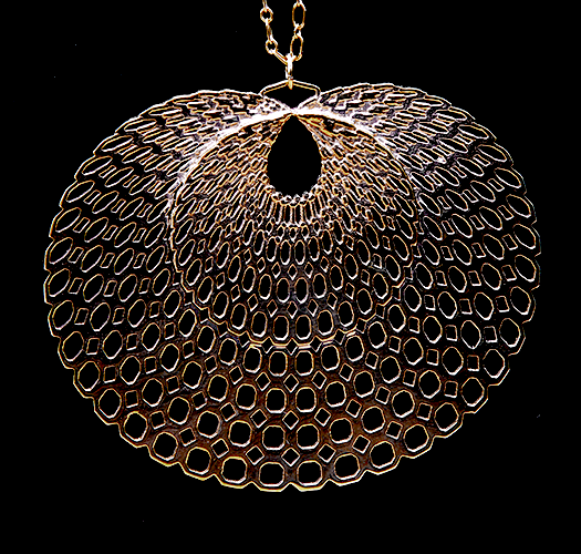 """The """"Peacock"""" Pendant - our signature piece."""