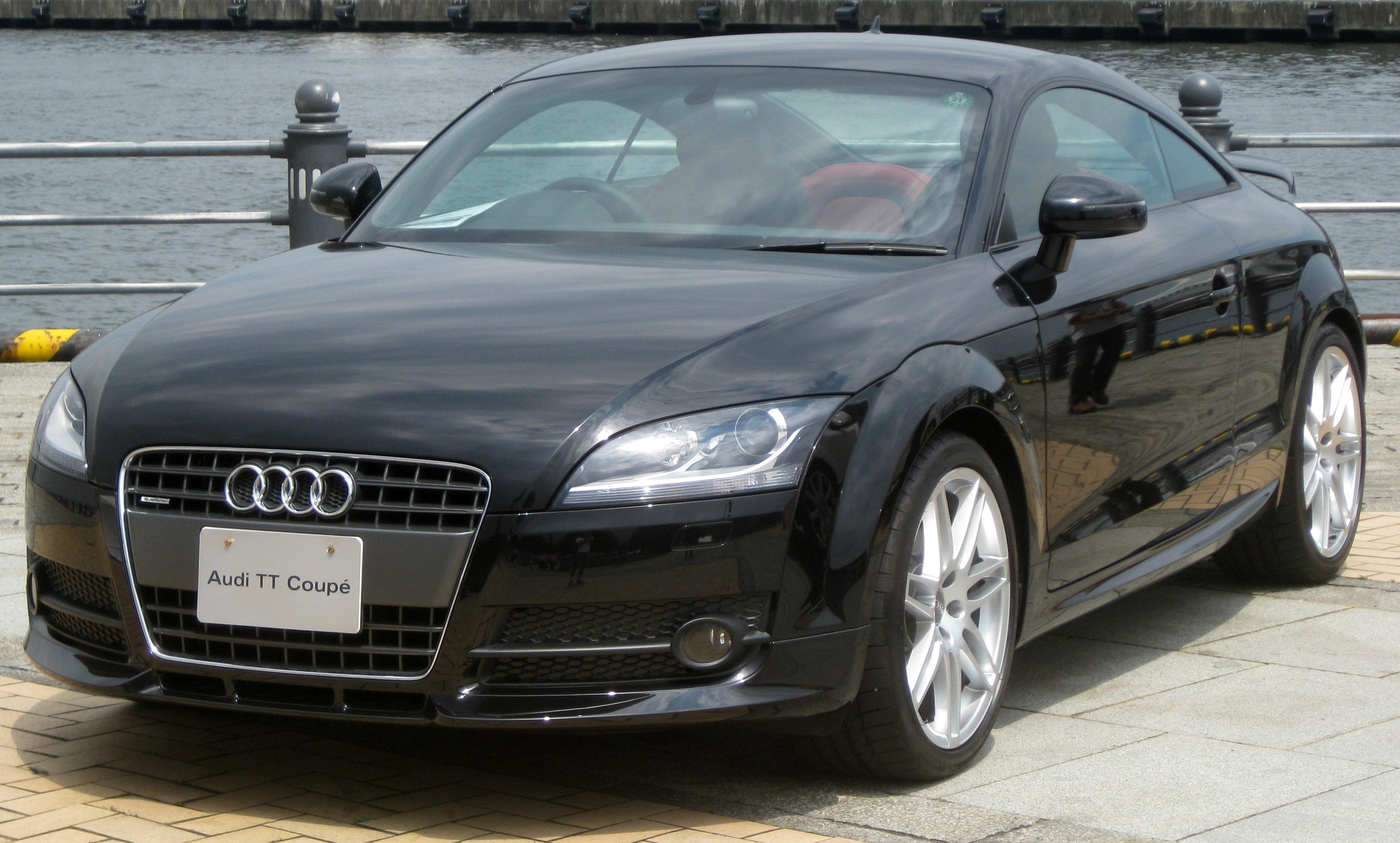 This is an older, base model Audi TT. Note the reasonable ride gap.