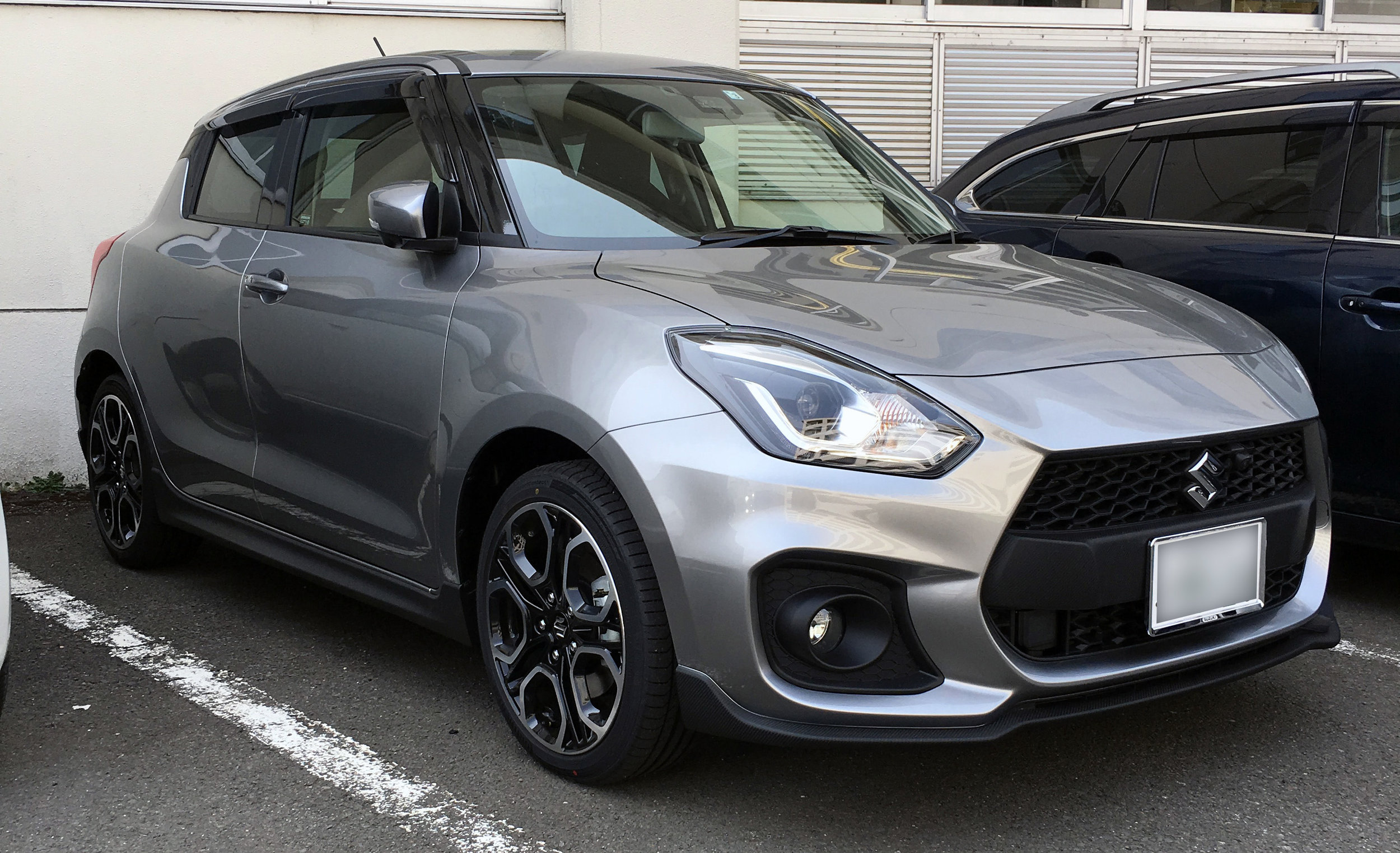 """This is the new 2018 Swift Sport, the """"performance variant"""" of the Swift."""