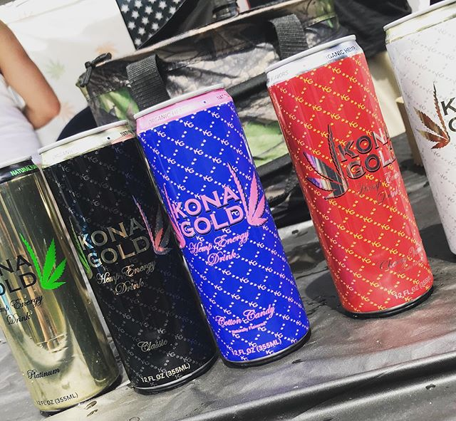 Shout out to Kona Gold! They kept us energized during the Cup! #energy #hemp #oneloveokla #hightimescannabiscup #sativaprophets