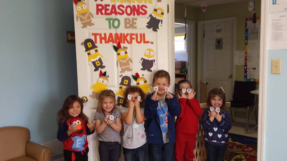 Reasons to be thankful!