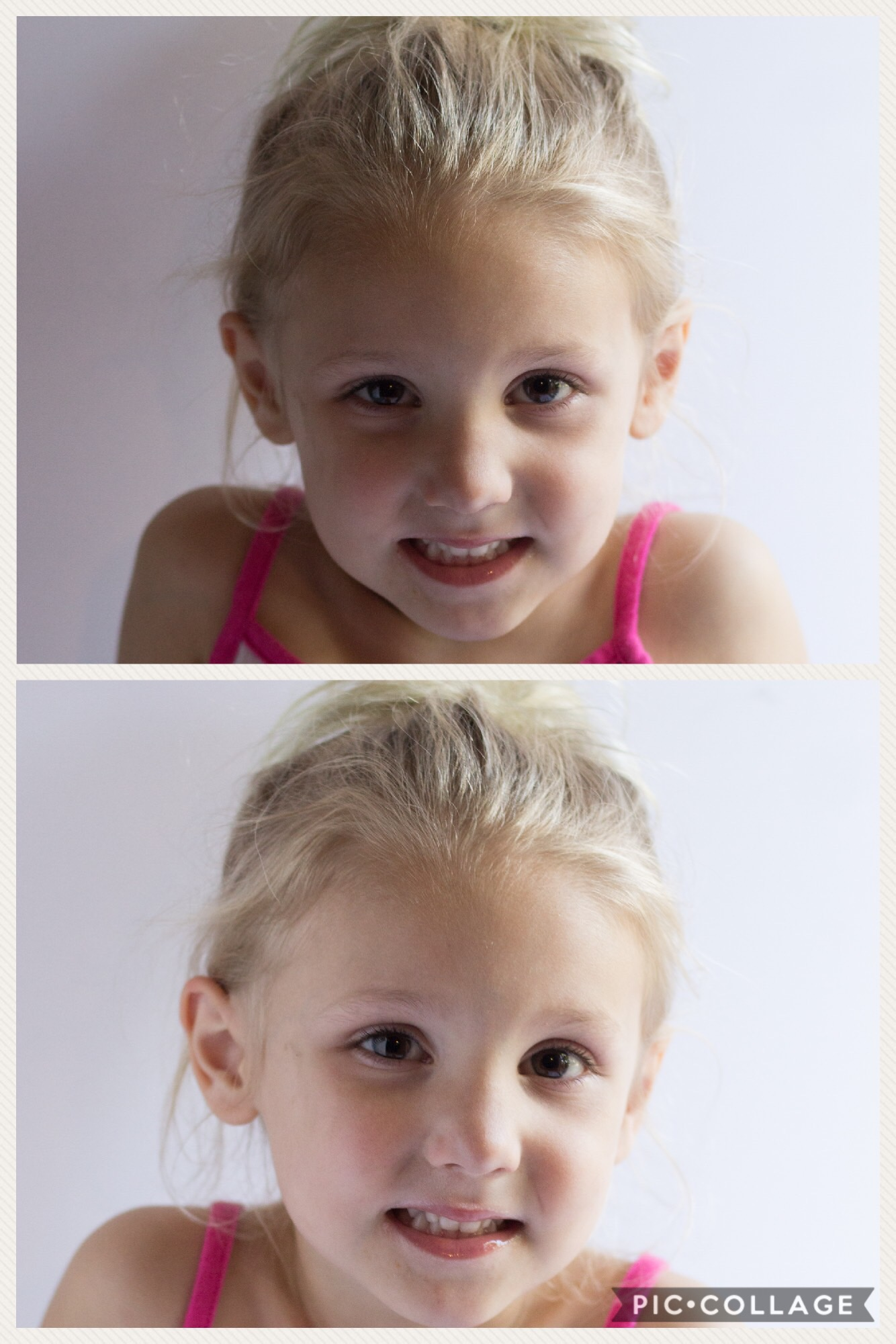 This is not a cake, it's my cutie pa tootie daughter, Zoey as our model.  Here is the difference between using the extra board to reflect the light coming in through the door. Above, no reflector board. Below, we have a reflector board! Simple change makes a big difference.