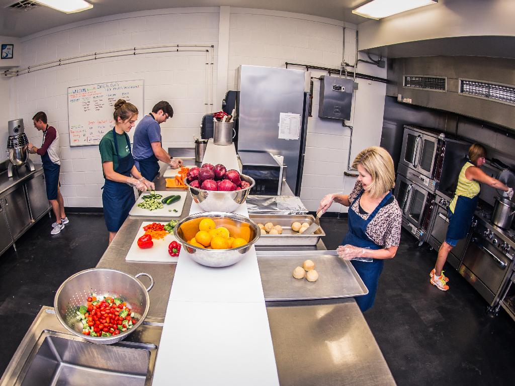 The Community Empowerment Kitchen.