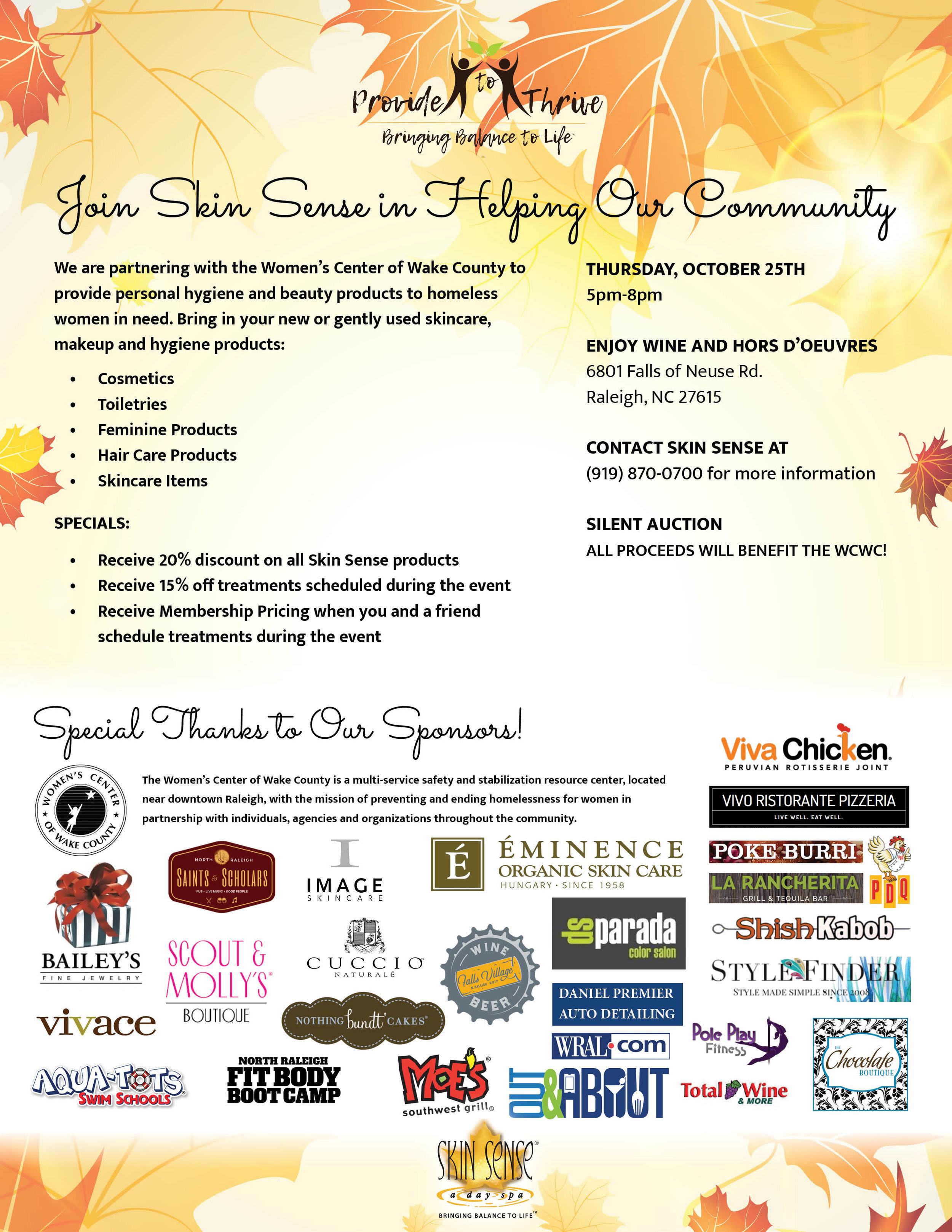 Provide To Thrive Flyer