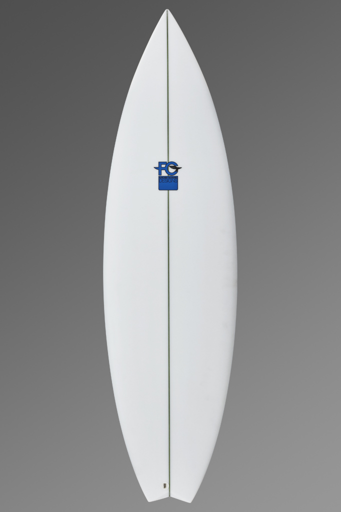 FCD Surfboards_Shortboard_Mullet Blue Logo Front_Grey Gradient.jpg