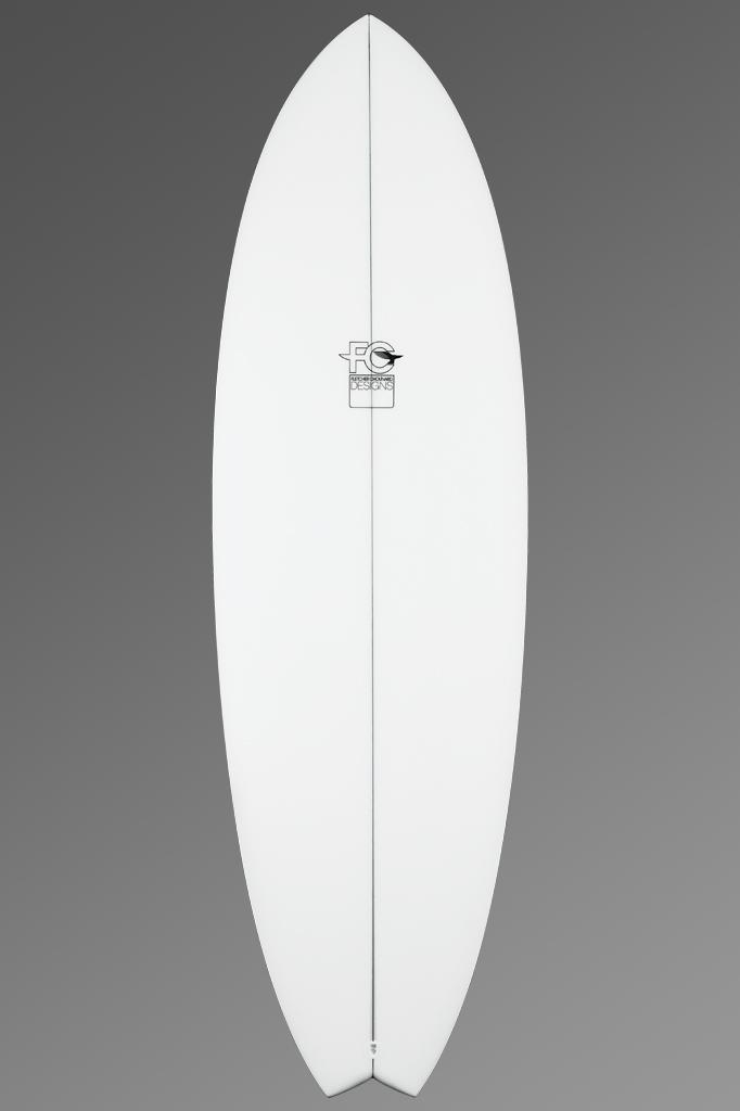 FCD Surfboards Shortboard Fark Deck