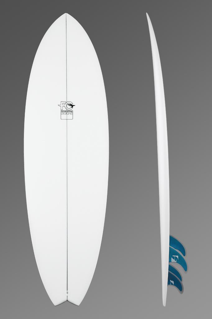 FCD Surfboards Shortboard Fark Deck + Rocker Profile