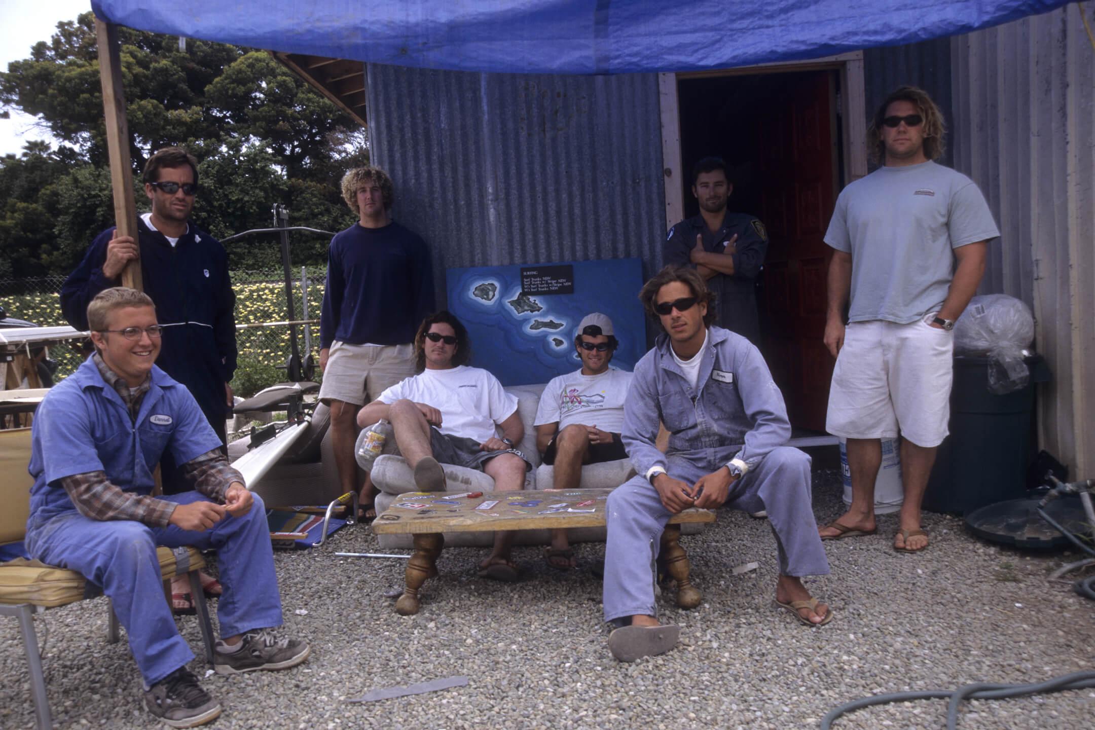 Shop crew, circa late '90s.