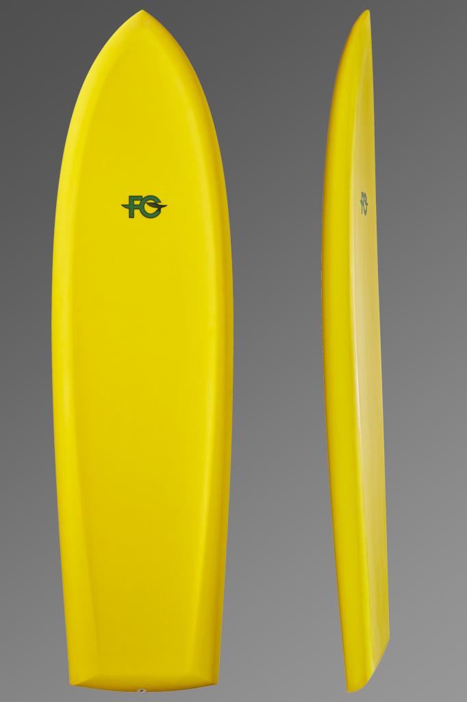 Foil Board_Yellow_Deck + Rocker Profile_Grey Background.png