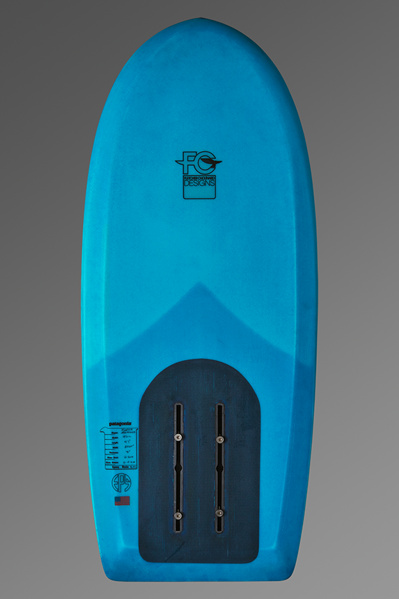 FCD Locust Foil Surfboard Bottom