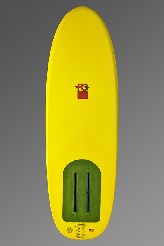 FCD Grasshopper Foil Surfboard_Bottom