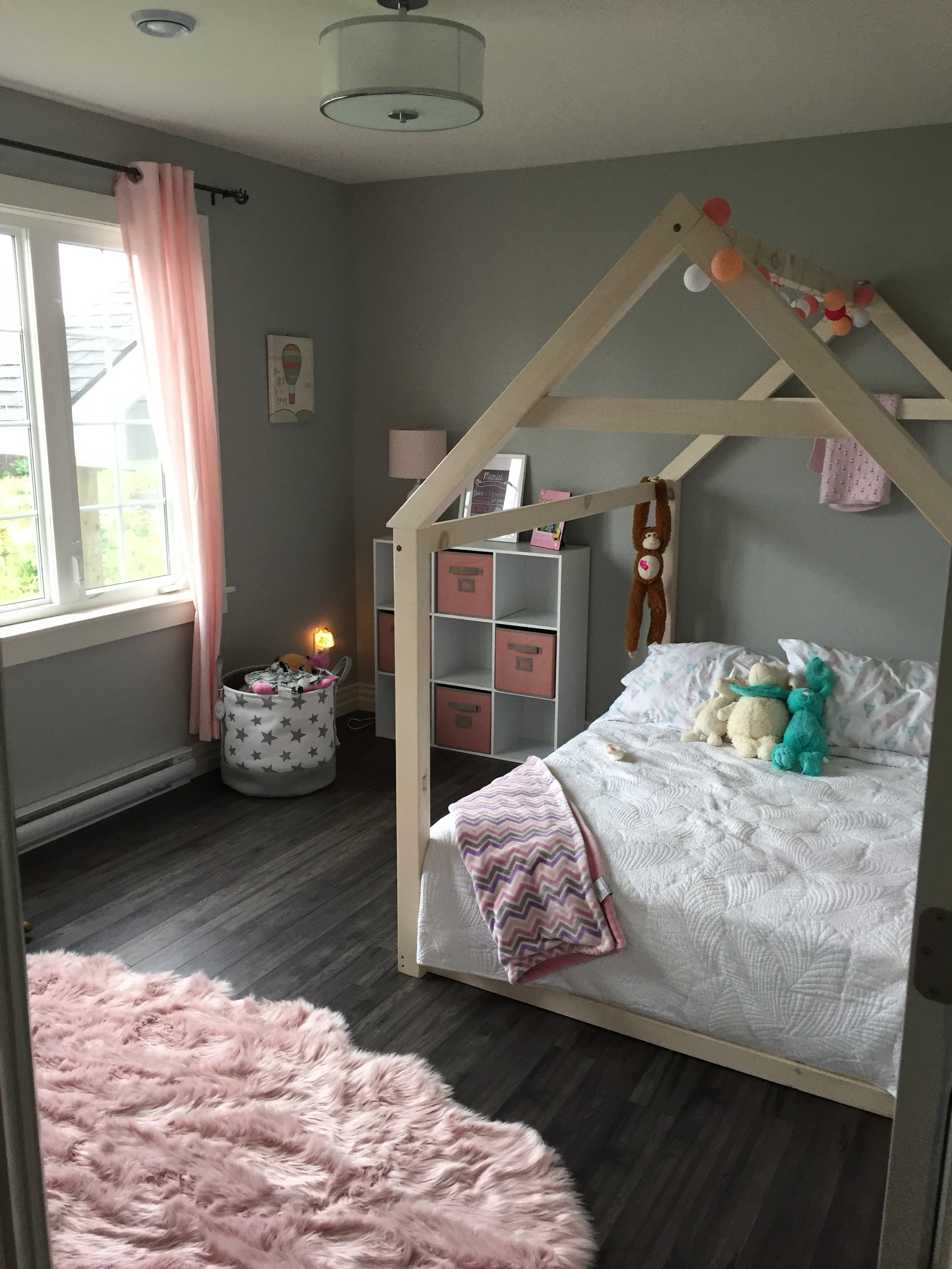 Barn style child bed - availabe in twin and double