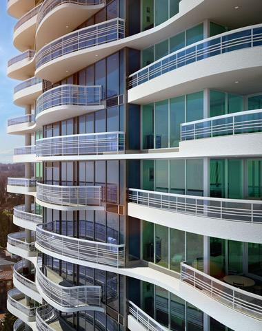 Shangri_La, Toronto where the developer added beautiful balconies