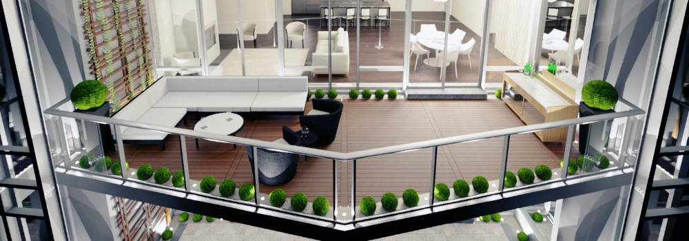Whether Classic or Contemporary, get a balcony to match! - TAKE THE ULTIMATE DESIGN STYLE QUIZ